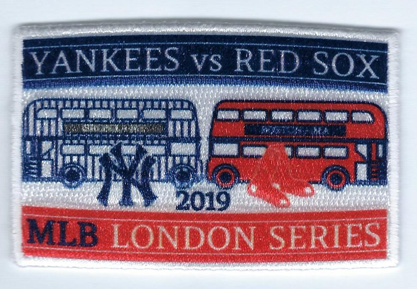 2019 London Series FanPatch (Double Decker Bus)