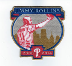 Jimmy Rollins Retirement Patch