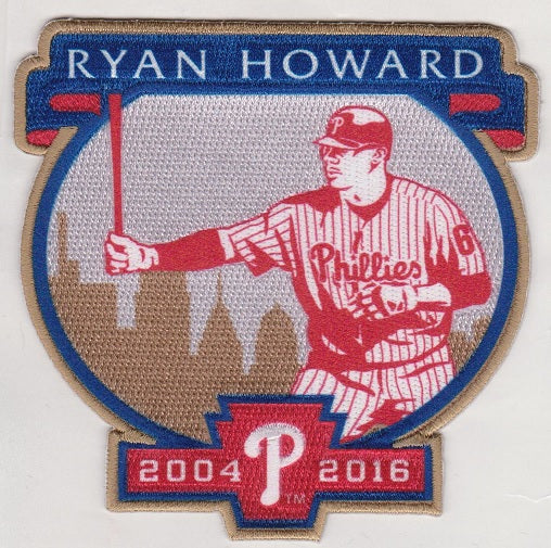 Ryan Howard Retirement Patch