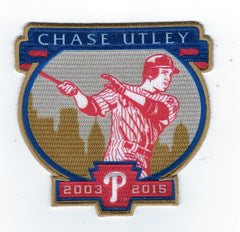 Chase Utley Retirement Patch