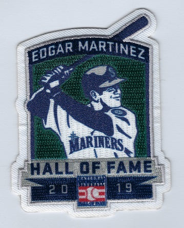 Edgar Martinez 2019 Hall of Fame Patch