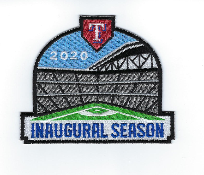 Texas Rangers Globe Life Field Inaugural Season Patch