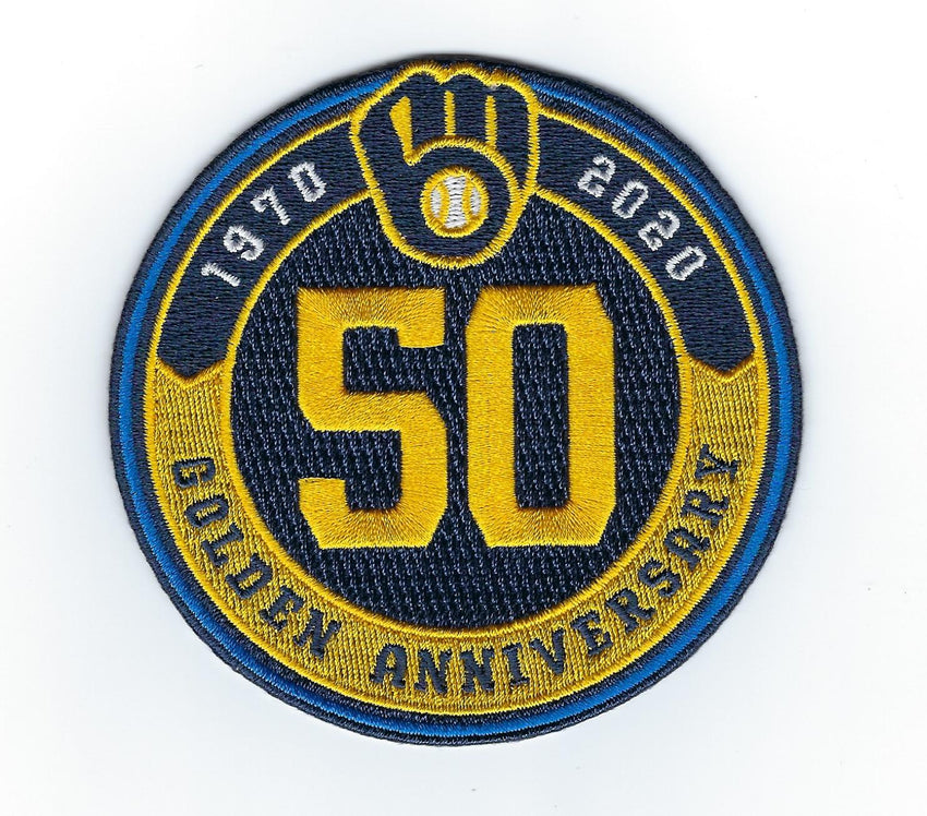 Milwaukee Brewers Golden Anniversary Patch