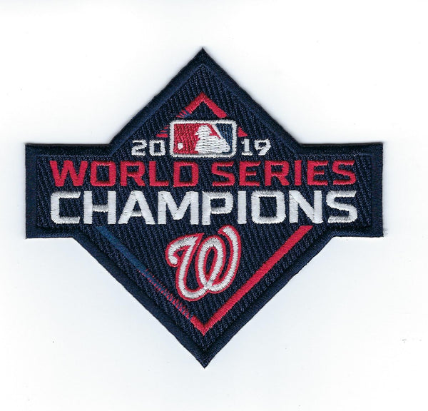 Washington Nationals 2019 World Series Champions Patch