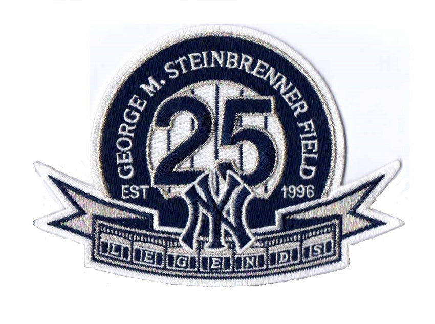 George M. Steinbrenner Field 25th Year Commemorative Patch