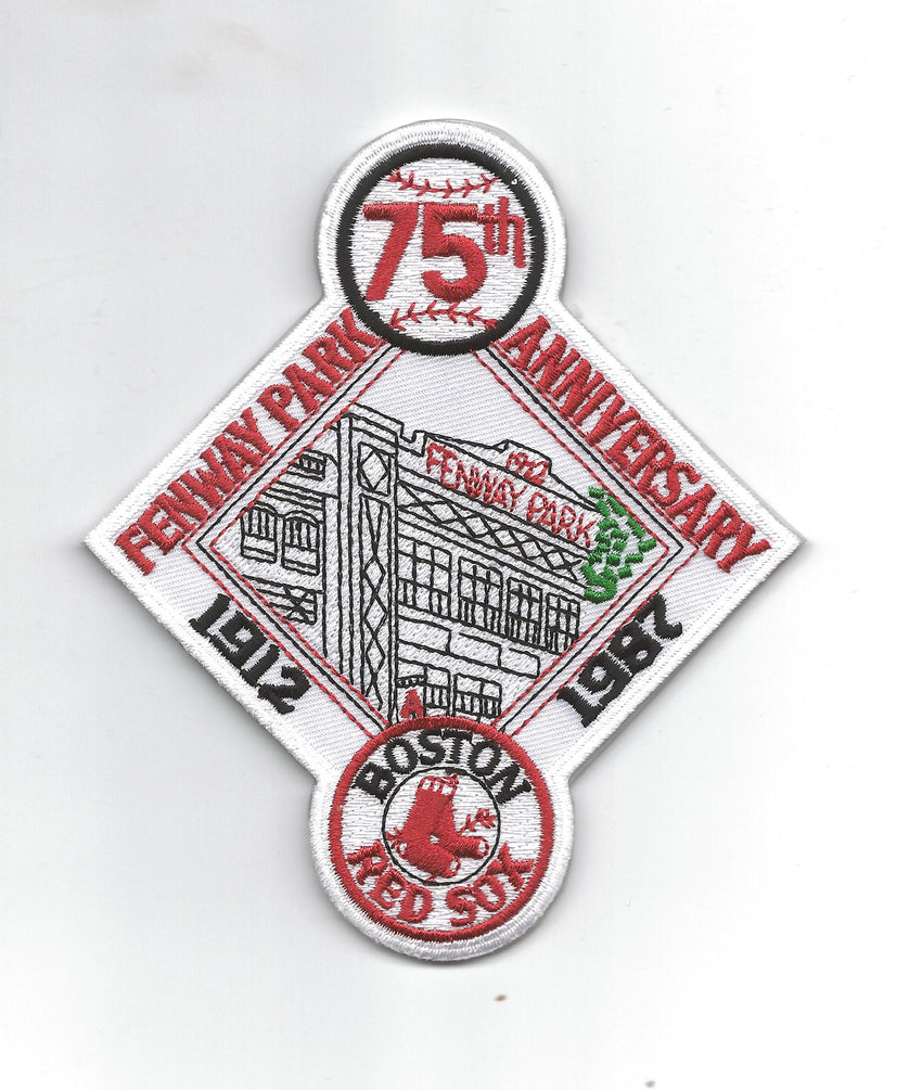 "Boston Red Sox ""Fenway Park 75th Anniversary"""