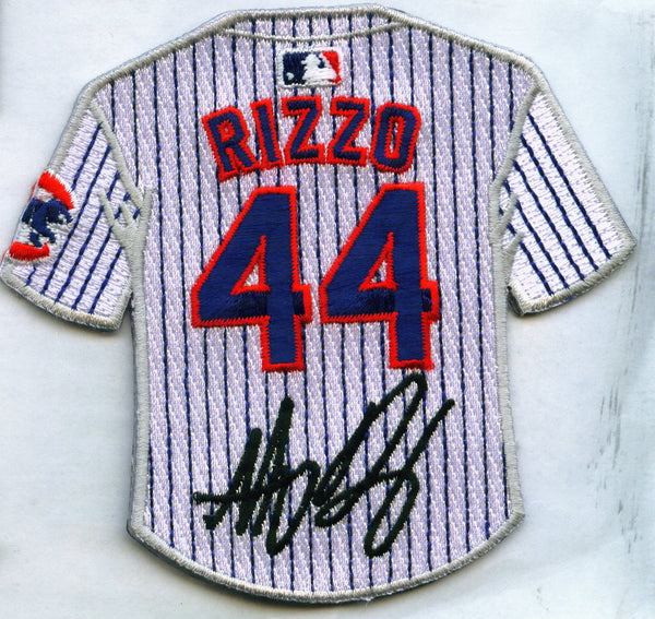 Anthony Rizzo Jersey Patch with signature