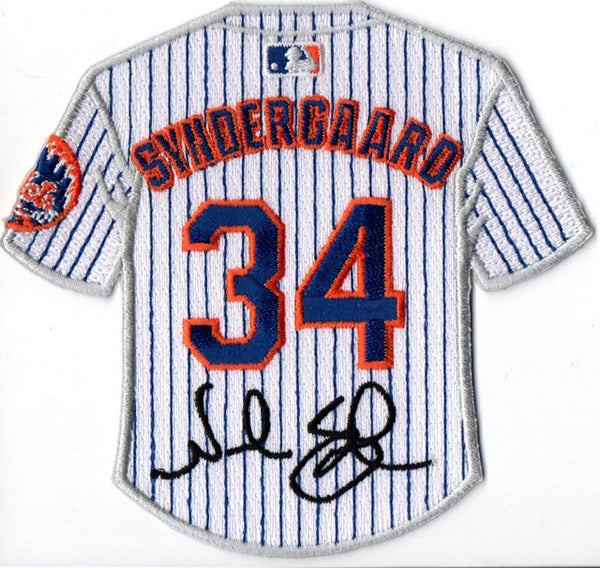Noah Syndergaard Jersey Patch with Signature
