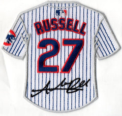 Addison Russell Jersey Patch with Signature