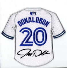 Josh Donaldson Jersey Patch with Signature