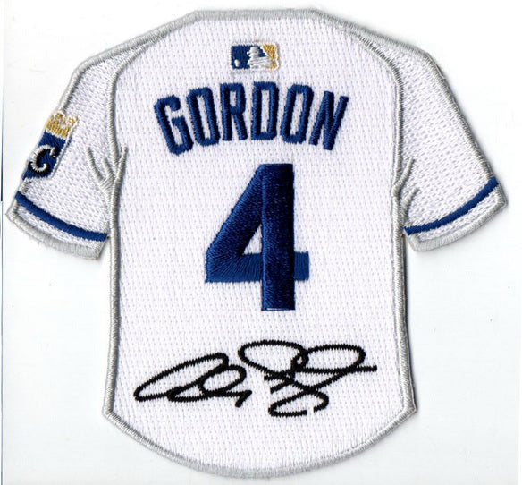 Alex Gordon Jersey Patch with Signature