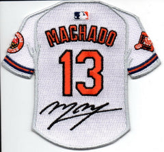 Manny Machado Jersey Patch with Signature