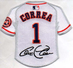 Carlos Correa Jersey Patch with Signature