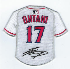 Shohei Ohtani Jersey with Signature FanPatch