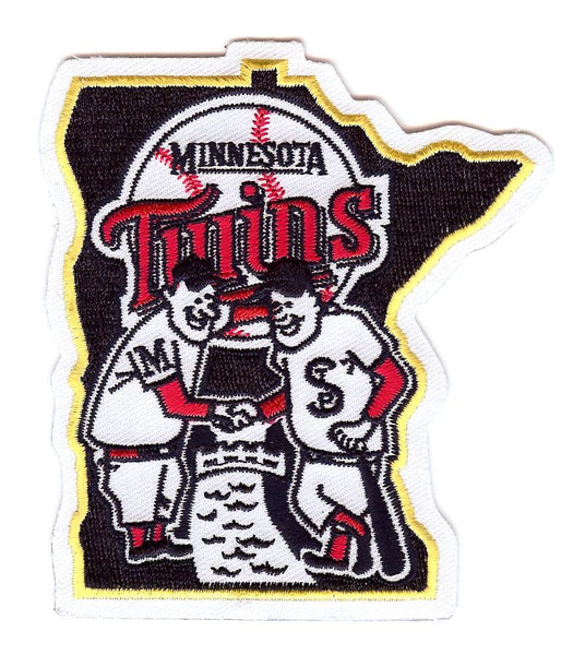 "Minnesota Twins ""Shaking Hands"" Home Sleeve Patch (2002-2009)"