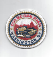 Washington Nationals DC 2008 Inaugural Season
