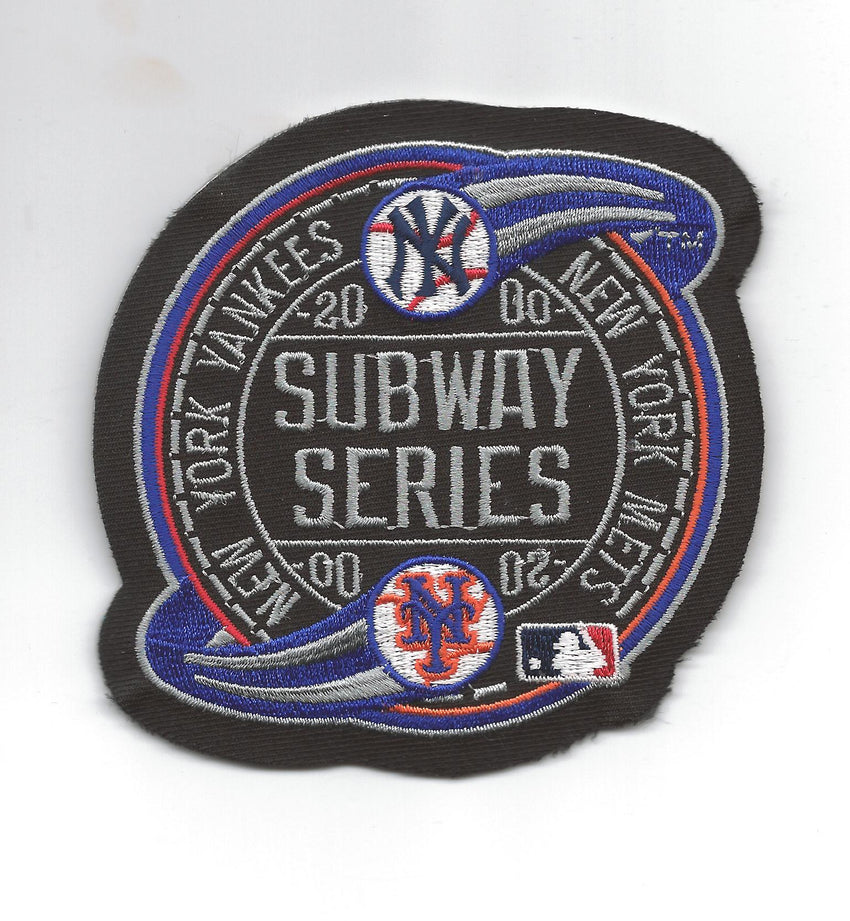 "2000 World Series ""Subway Series"" Patch"