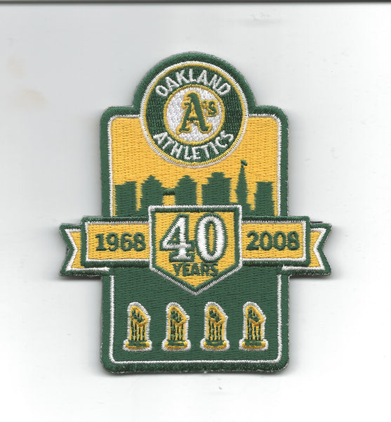 Oakland A's 40 Years 1968 - 2008 w/Trophies