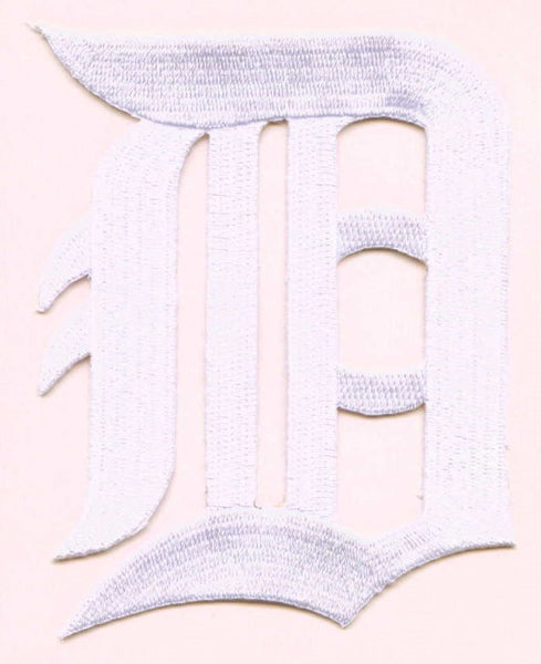 Detroit Tigers Primary White Logo Patch (2006-2015)