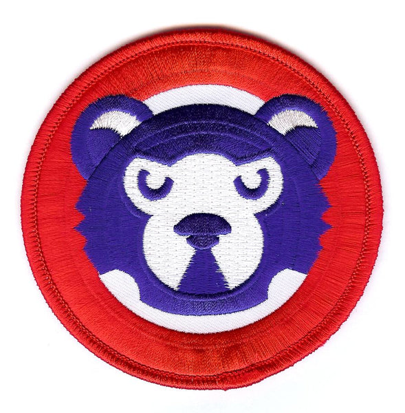 Chicago Cubs Bear Face Patch (1980-1989)