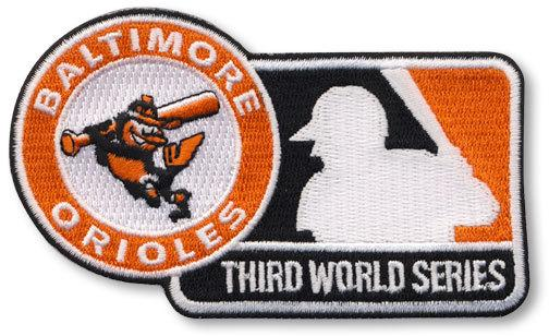 Baltimore Orioles 1970 World Series Championship Patch
