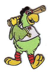 "Pittsburgh Pirates Parrot Mascot ""Bat Pose"""