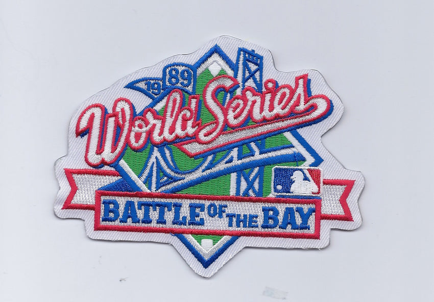 "1989 World Series Patch ""Battle of the Bay"""