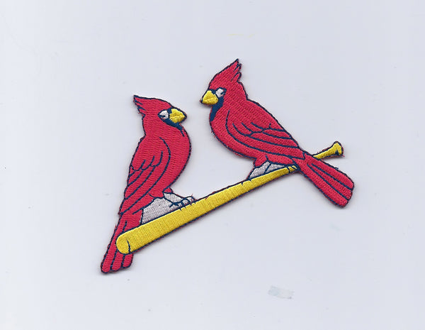 "St. Louis Cardinals ""Cardinals on Bat"" Secondary Logo"