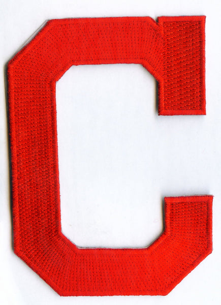 "Cleveland Indians ""C"" Cap Primary Patch"