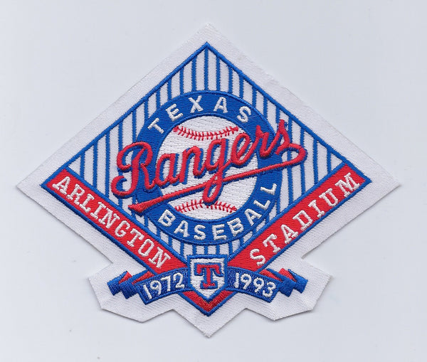 Texas Rangers Baseball Arlington Stadium 1972-1993