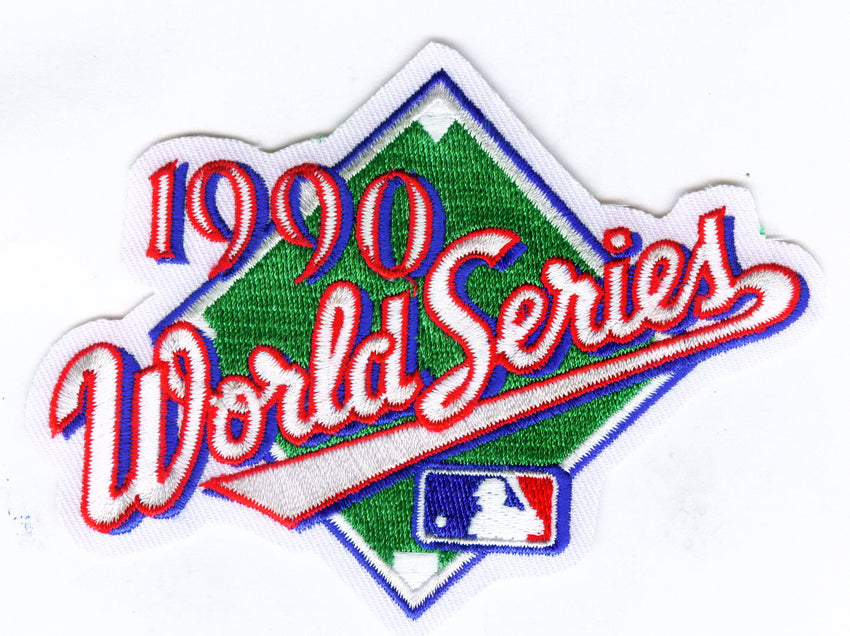 1990 World Series Patch