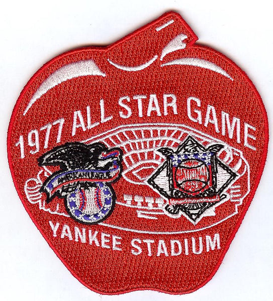 1977 All Star Game Patch