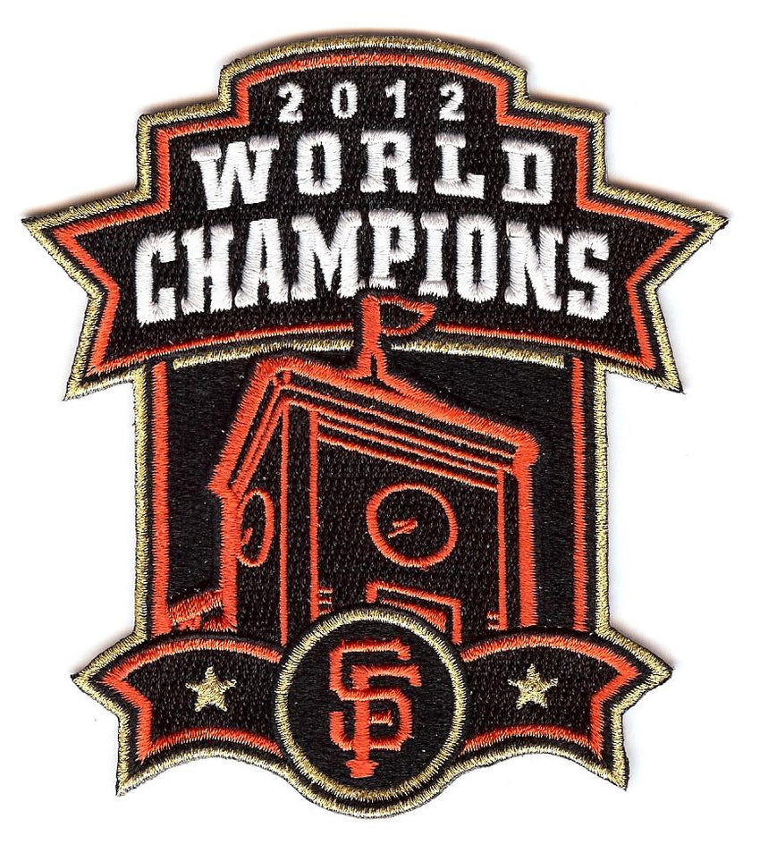 "San Francisco Giants 2012 World Series Champions ""Clocktower"" Patch"