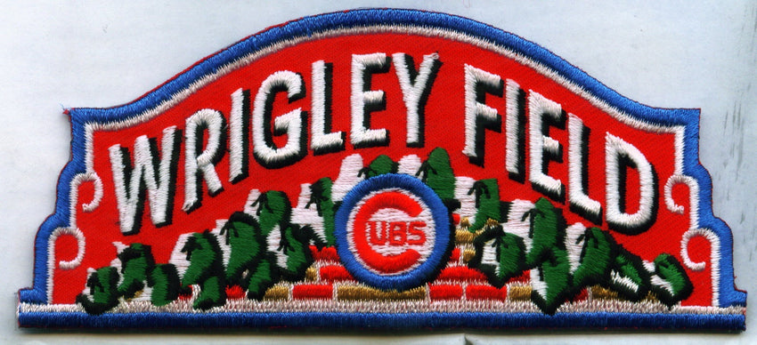 Chicago Cubs Wrigley Field Patch