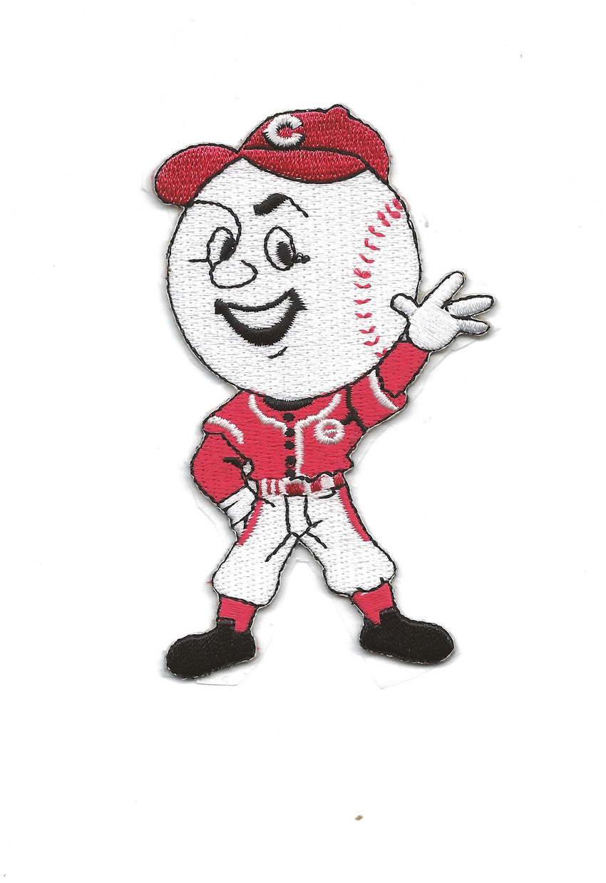 "Cincinnati Reds Mascot ""Mr. Red Waving"""