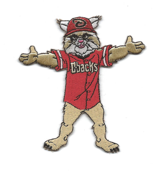"Arizona Diamondbacks Mascot ""Baxter the Bobcat"""