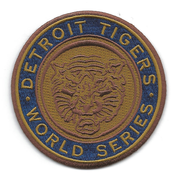 Detroit Tigers 1968 World Series Championship Patch