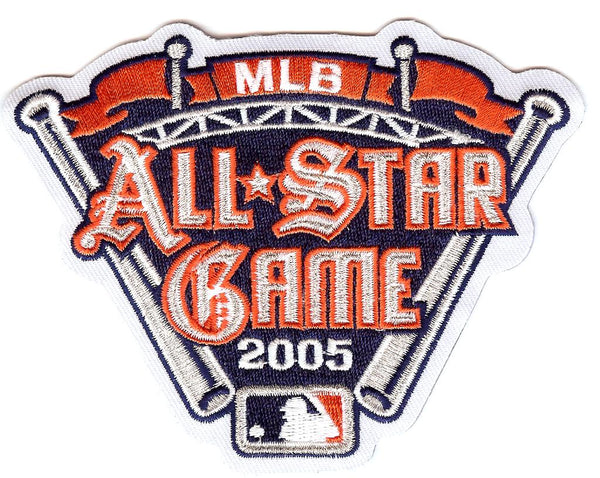 2005 Major League Baseball All Star Game Patch (Detroit)
