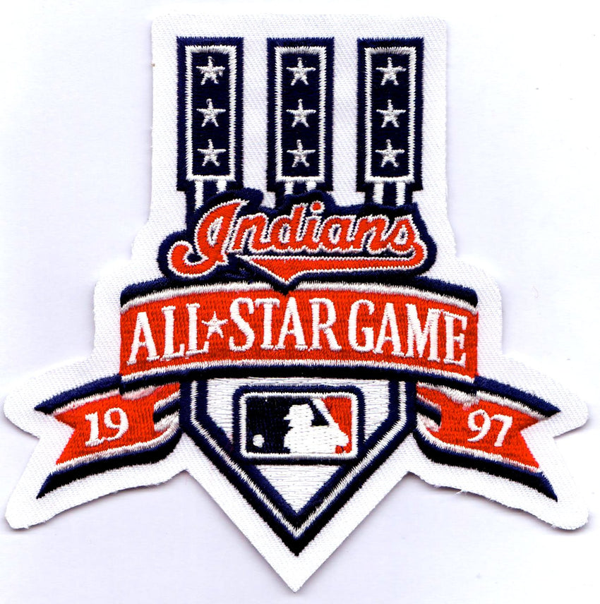 1997 Major League Baseball All Star Game Patch (Cleveland)
