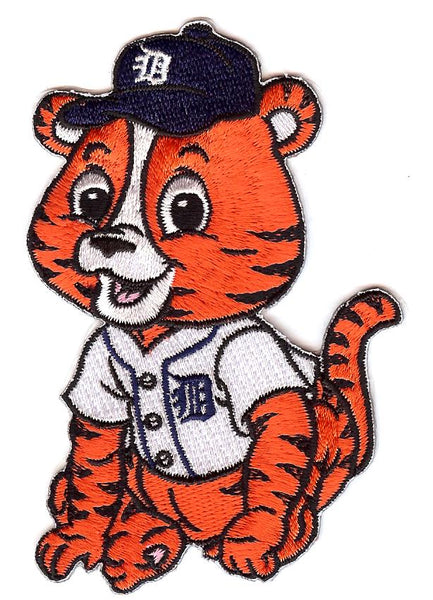 Detroit Tigers Baby Mascot Patch