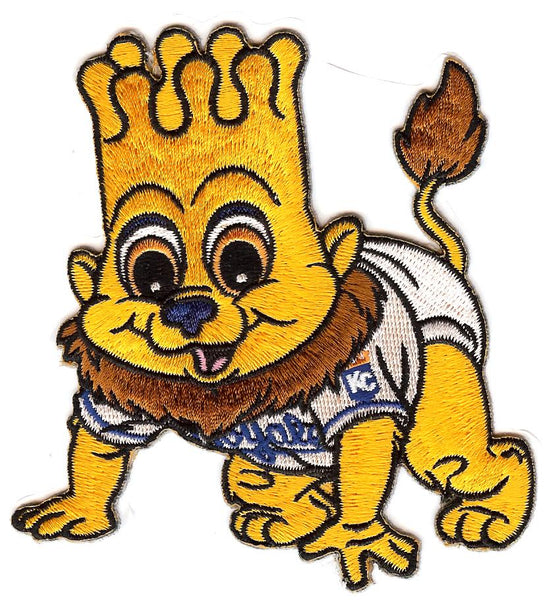 Kansas City Royals Baby Mascot Patch