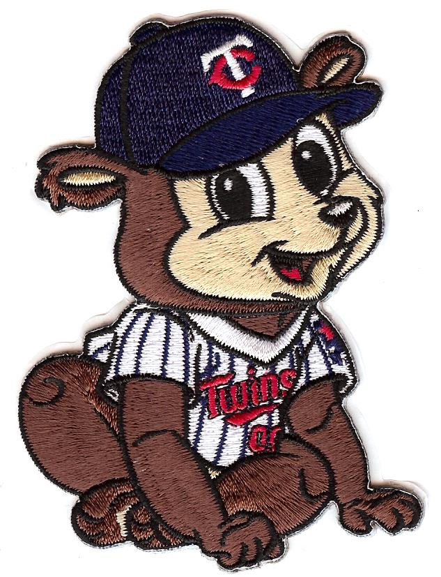 Minnesota Twins Baby Mascot Patch