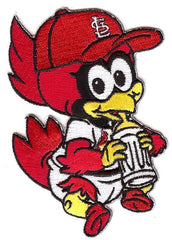 St. Louis Cardinals Baby Mascot Patch