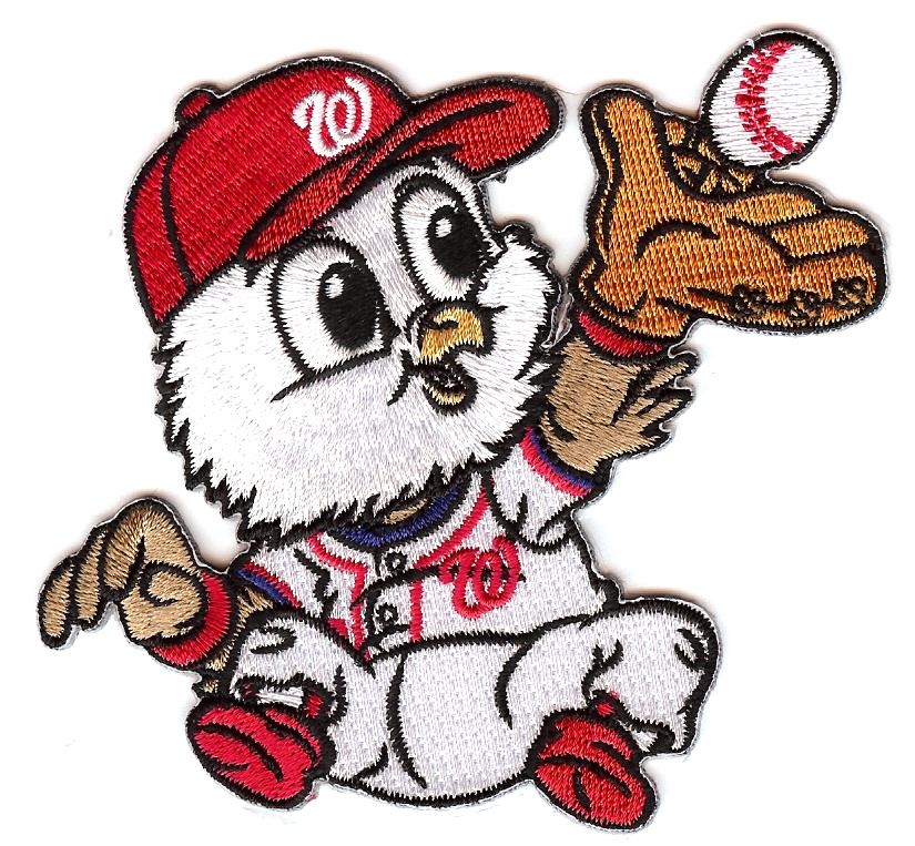 Washington Nationals Baby Mascot Patch