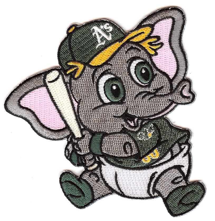 Oakland Athletics Baby Mascot Patch