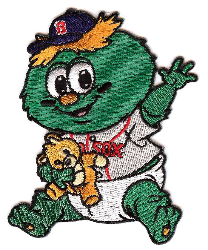 Boston Red Sox Baby Mascot Patch