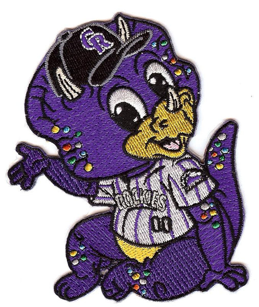 Colorado Rockies Baby Mascot Patch