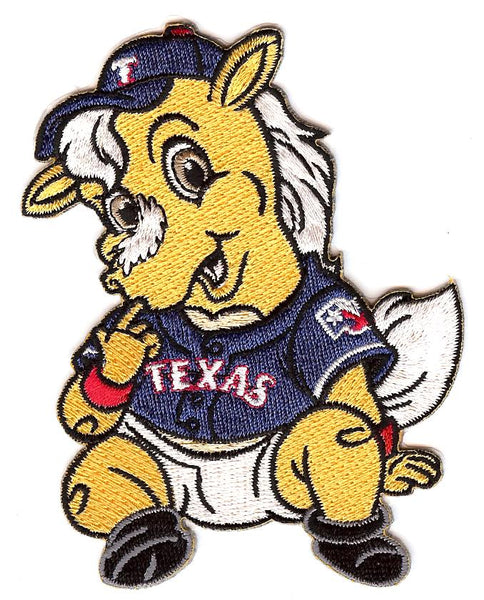 Texas Rangers Baby Mascot Patch