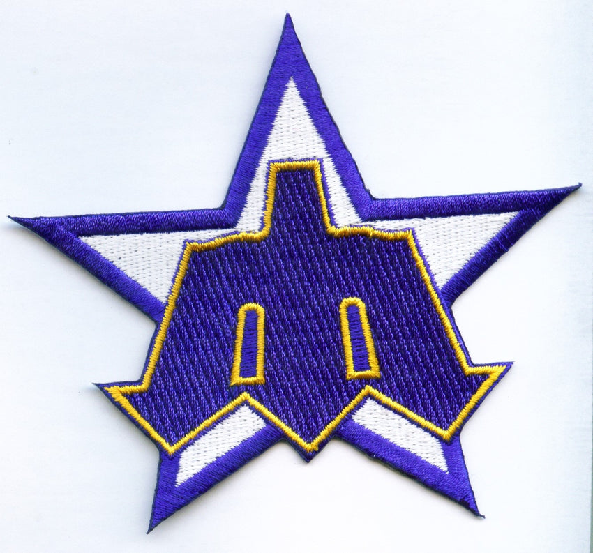 Seattle Mariners Star Patch