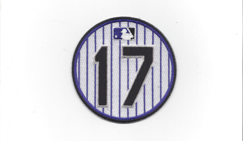 Todd Helton Retirement Patch